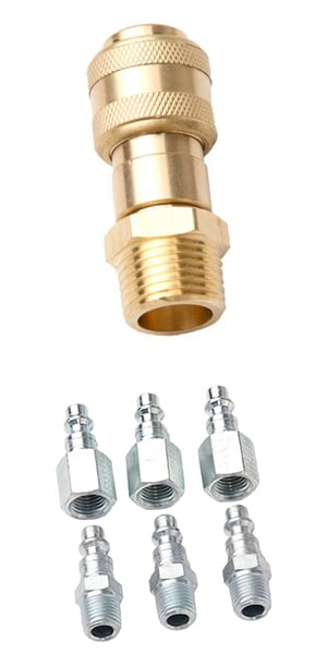 Metal and Copper Couplers