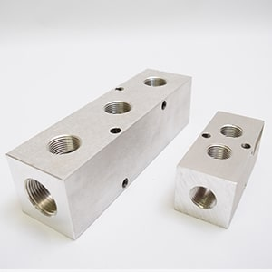 Machined Aluminum Manifolds