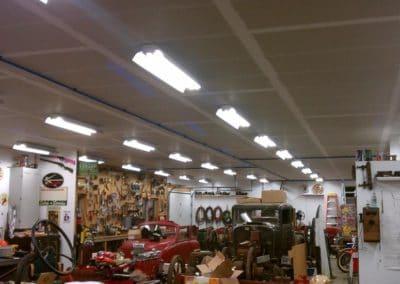 Maxline Installation in Garage