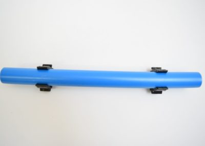 Maxline Pipe Wall Mounted with Clips