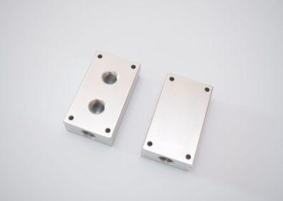 outlet kit uses aluminum block