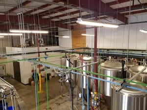 Gas Piping Systems for Breweries