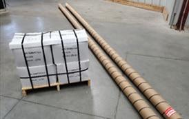 Tubes Packed for Shipment