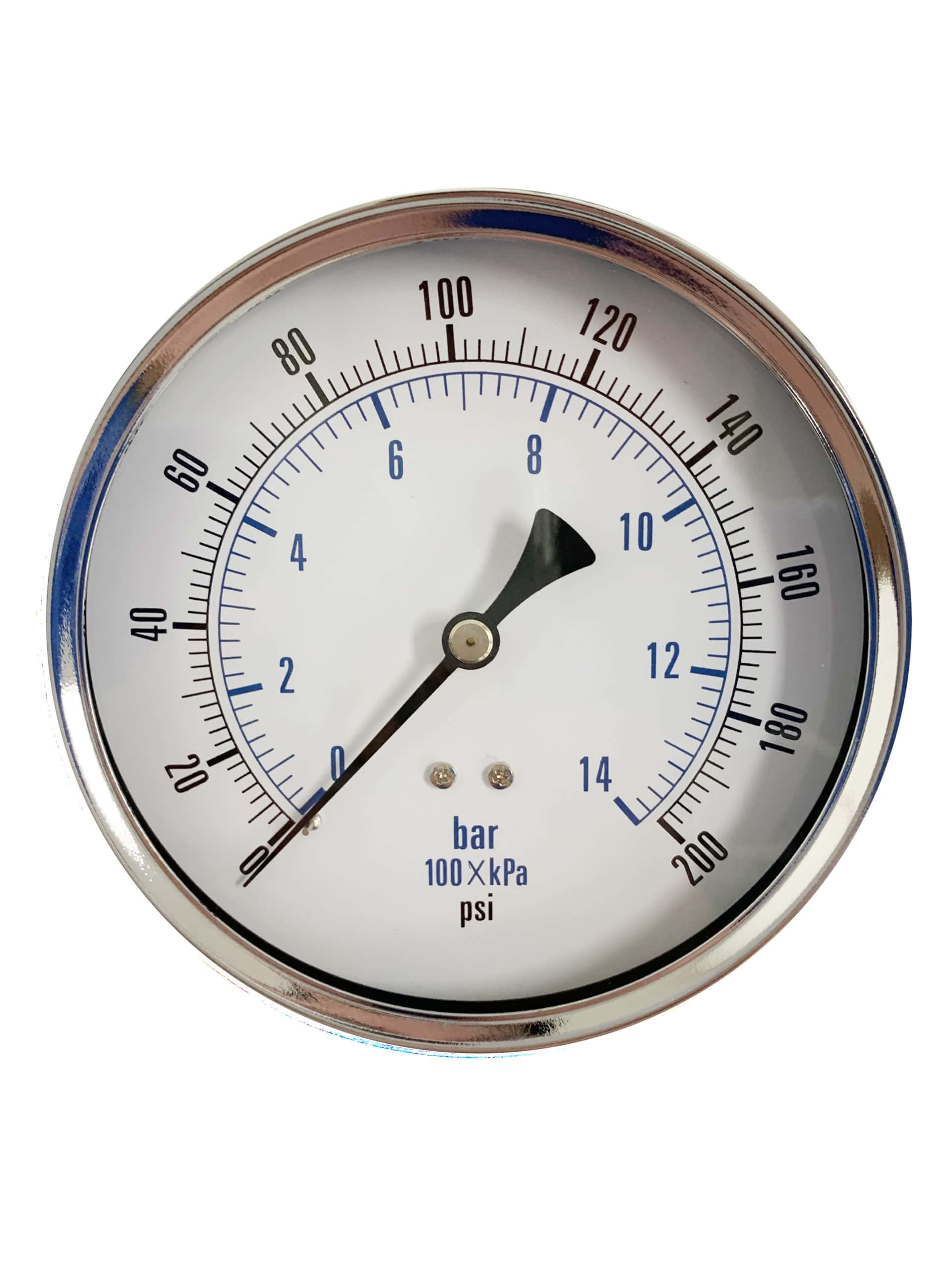 Pressure Gauge, Rear Mount