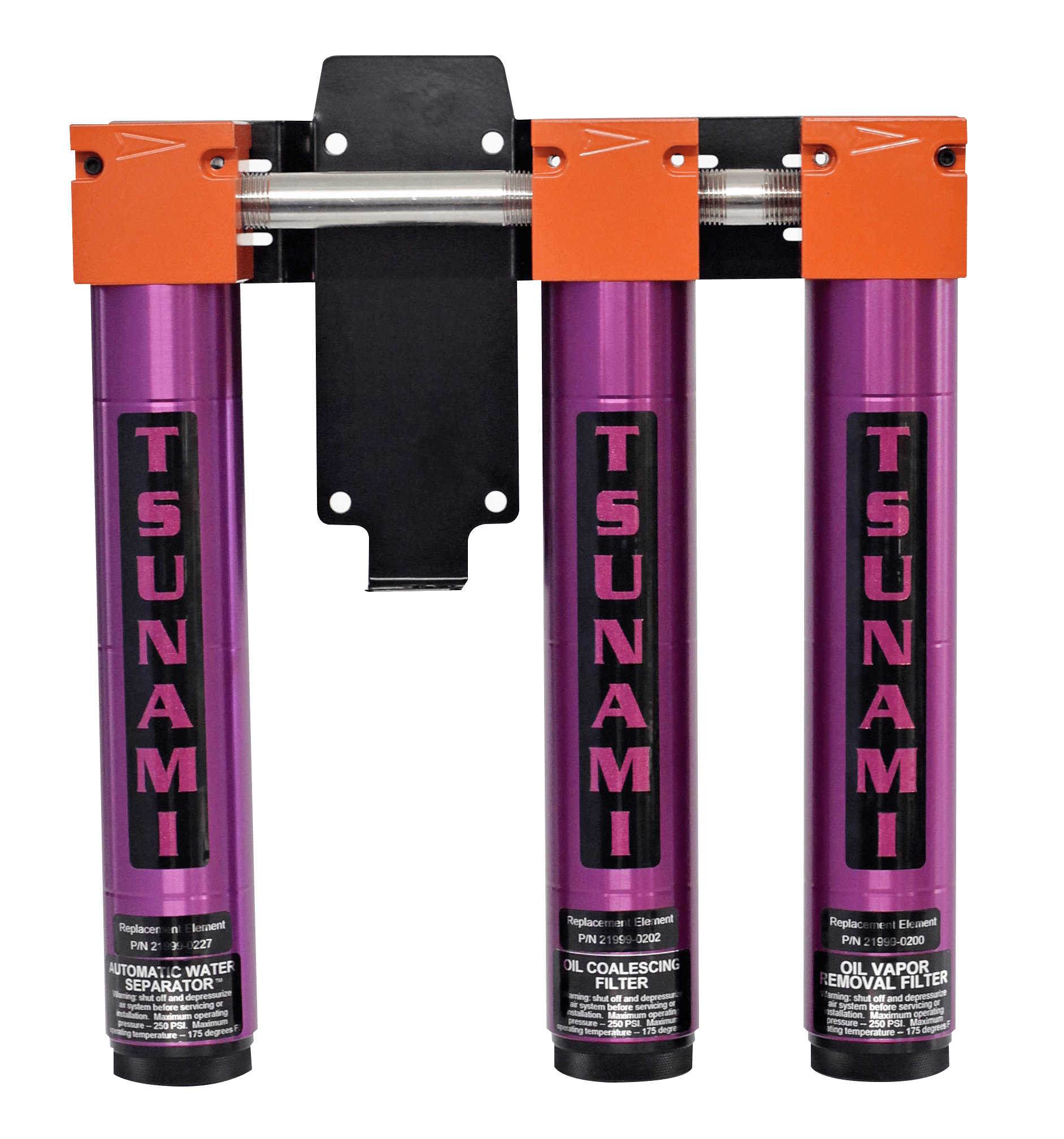 Tsunami Filtration Package #5 - 3 Stage Setup