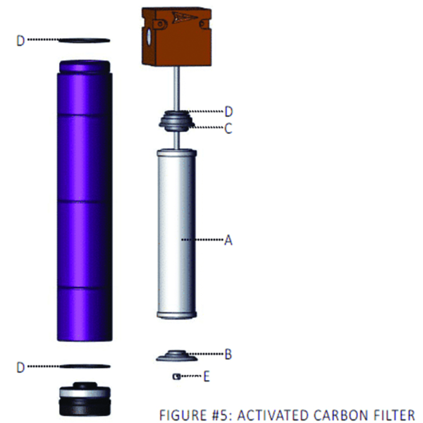 Tsunami Activated Carbon Replacement Elements