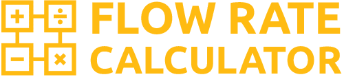 Flow Rate Calculator