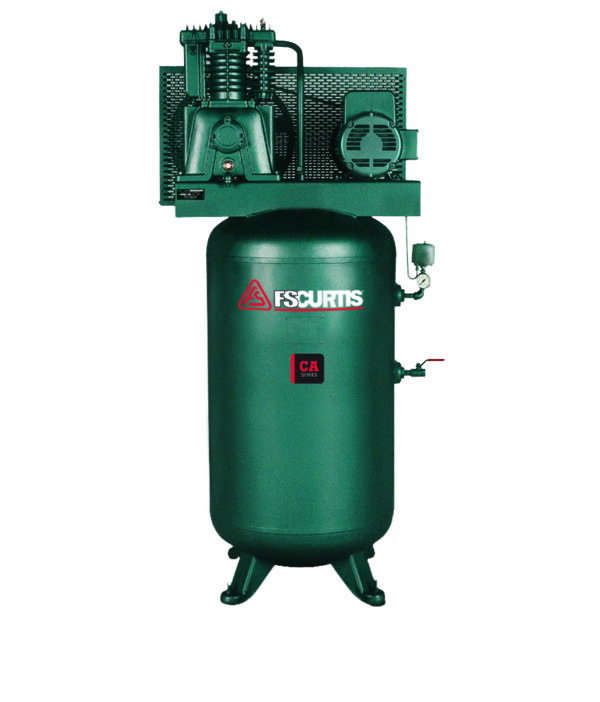 CA7.5 7.5HP PISTON COMPRESSOR- 2 STAGE- 80 GAL VERTICAL TANK- 3/60/230V-IN STOCK SHIPS FROM WI TODAY!