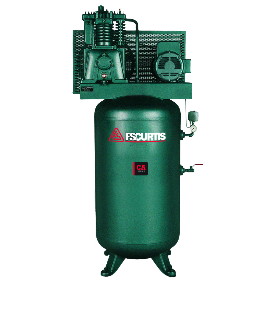 CA7.5 7.5HP PISTON COMPRESSOR- 2 STAGE- 80 GAL VERTICAL TANK- 1/60/230V-IN STOCK SHIPS FROM WI TODAY!