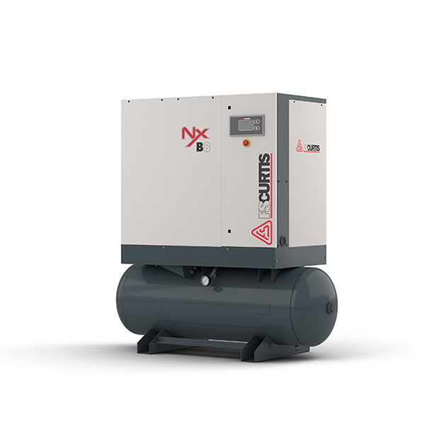 NxB06  7.5HP FIXED SPEED ROTARY SCREW COMPRESSOR- ULTRA PACK - 3/60/230