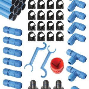 "1"" FASTPIPE  90 FT MASTER KIT"