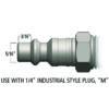 PLUG - ASSORTMENT 6 PACK - 30 CFM BODY
