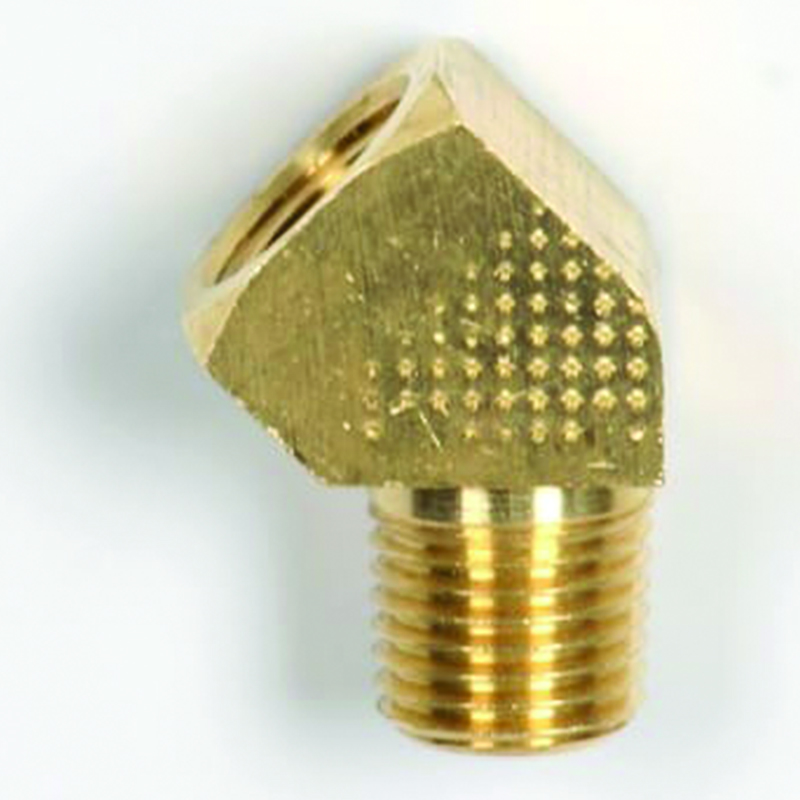 NPT 45 DEGREE STREET ELBOW BRASS