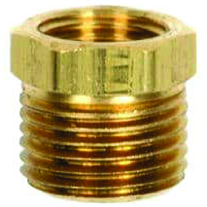 BRASS HEX REDUCING BUSHING