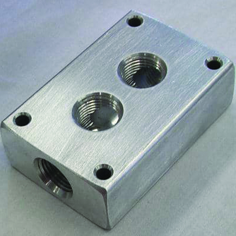 Compressor Manifold Block Only