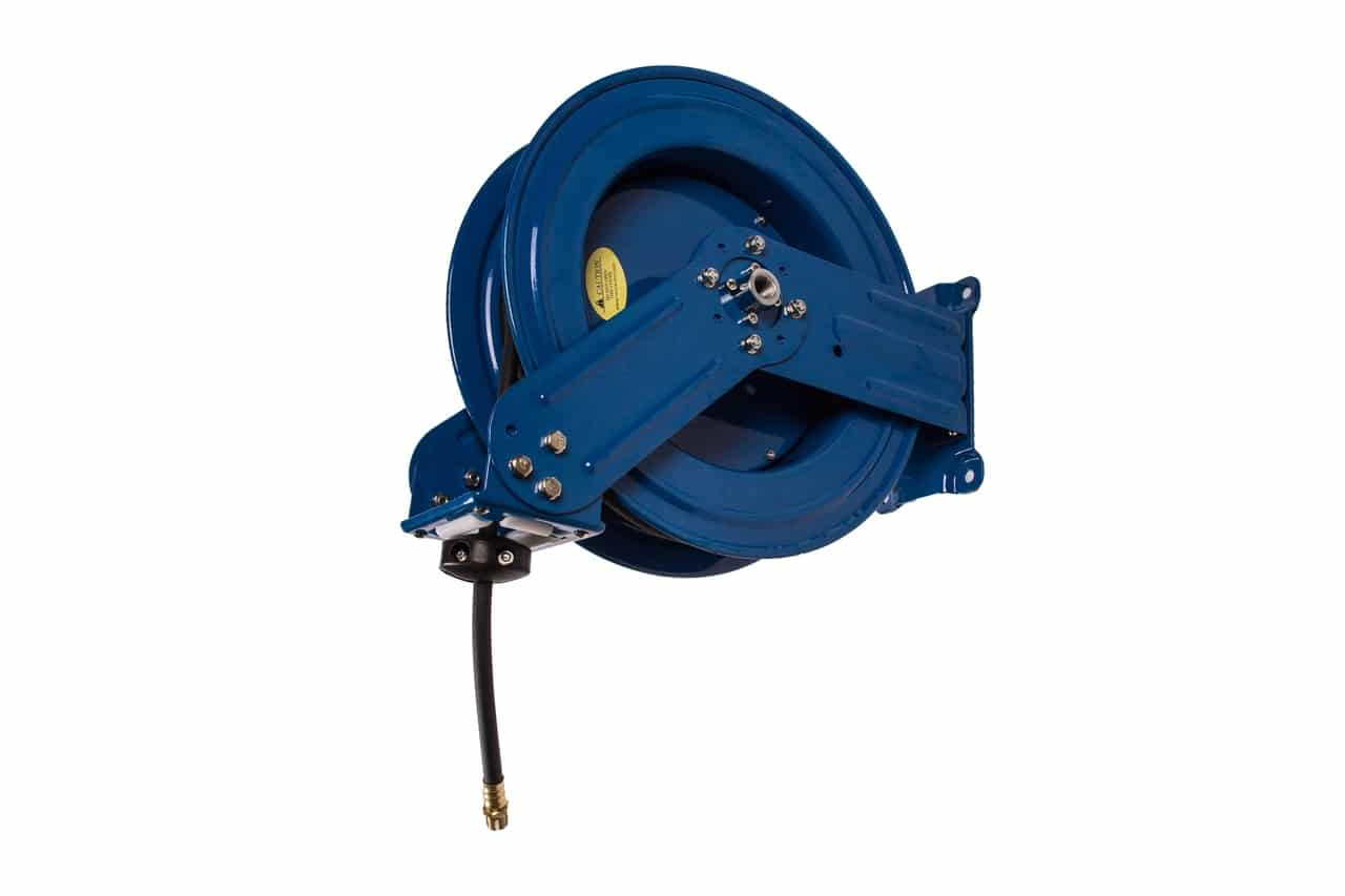 """RAPIDAIR R-03050 - DUAL ARM HOSE REEL - 3/8"""" X 50 FT- OUT OF STOCK"""