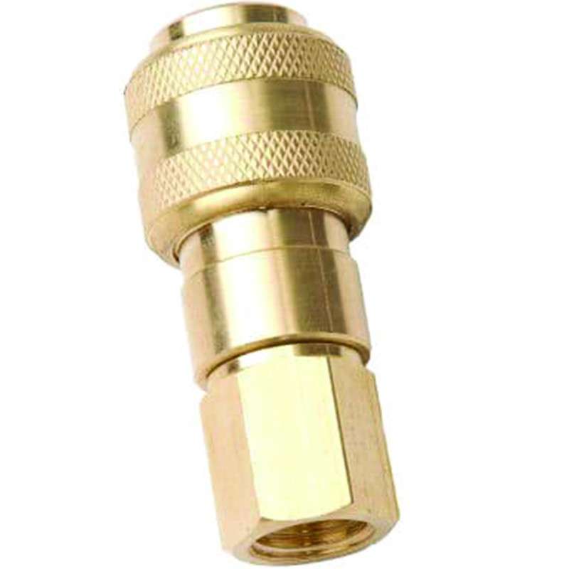 "PUSH TO CONNECT COUPLER - 1/4"" NPT FEMALE - 30 CFM BODY"