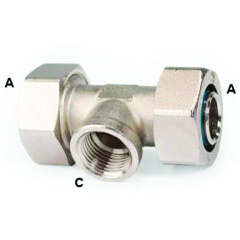 DURATEC REDUCING TEE FEMALE NPT