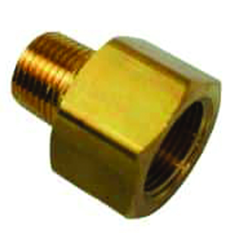 BRASS HEX ADAPTER BUSHING