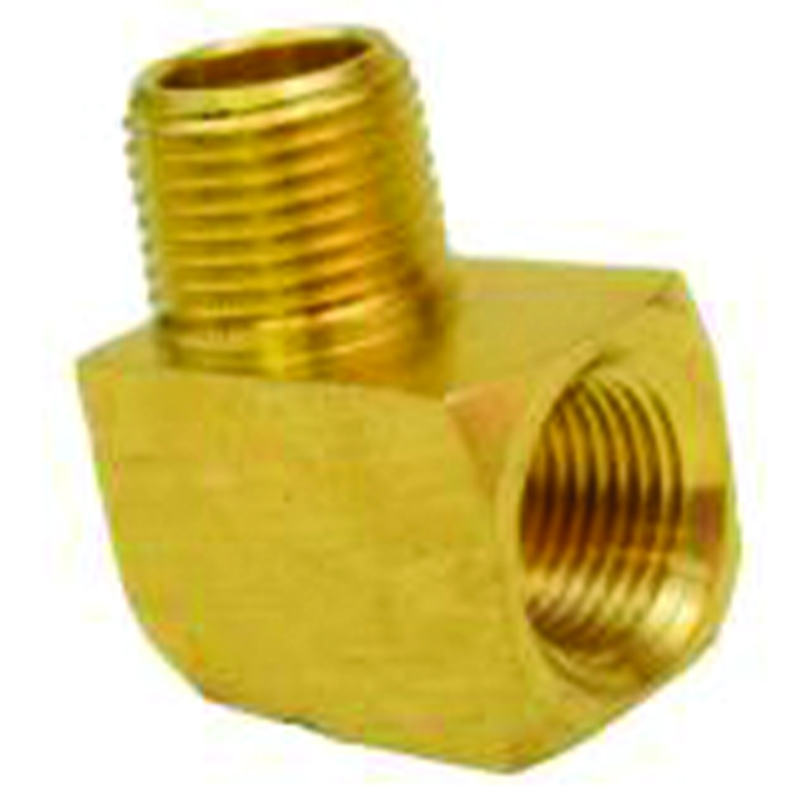 NPT 90 DEGREE BRASS STREET ELBOW