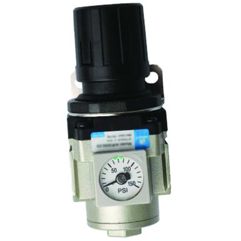 INLINE REGULATOR WITH GAUGE